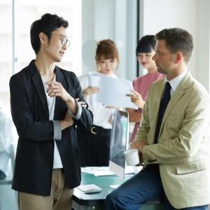ビジネス英会話クラスの写真です
